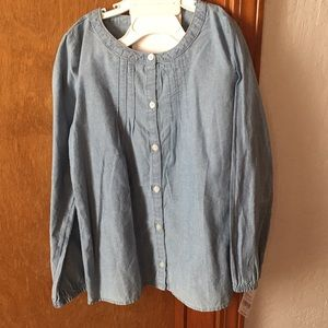 ✨NWT✨ Carter's denim girl top 7